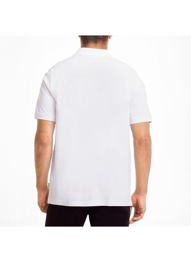 Puma Erkek Polo Yaka Tişört Ess Pique 58667402 Beyaz